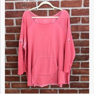 Calvin Klein performance pink lightweight top
